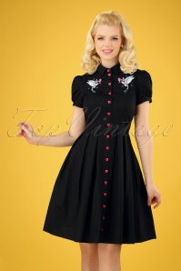 50s Jojo Dress in Black