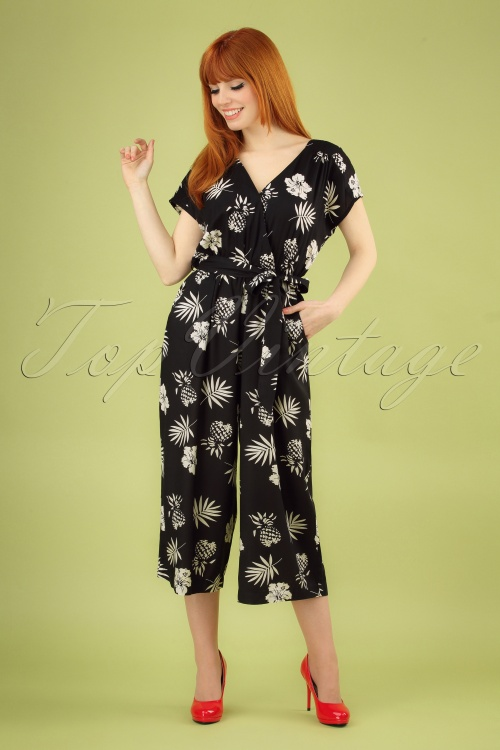 Bunny 28855 Pineapple Jumpsuit 20190308 003 020W
