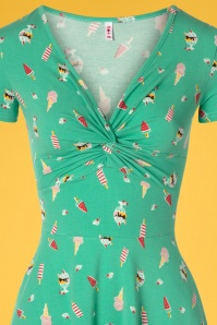 Blutsgeschwister 27296 Swingdress HotKnotSun Green Icecream 20190415 0003V