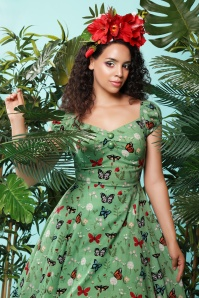 Collectif Clothing 27472 Dolores Butterfly Doll Swing Dress 20180814 0021