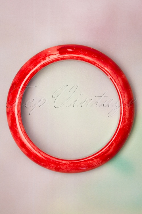 Collectif Clothing 27245 Sandra Bangle Red 20190417 002 W
