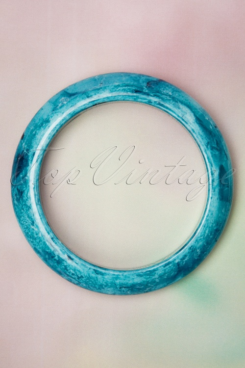 Collectif Clothing 27244 Sandra Bangle Blue 20190417 009 W