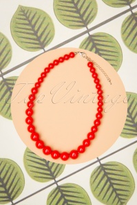 Collectif Clothing 27269 Natalie Bead Red 20190417 038 W