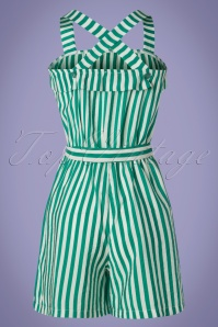 Who's that girl 27046 Striped Playsuit 20190416 007W