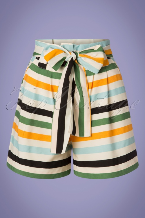 Compania Fantastica 27346 Striped Bow Short 20190416 004W