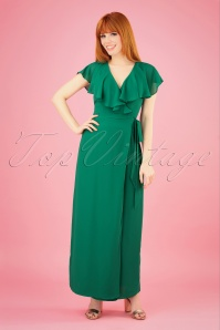 Wild Pony 27337 Elsa Maxi Dress in Green 20190315 001 020W