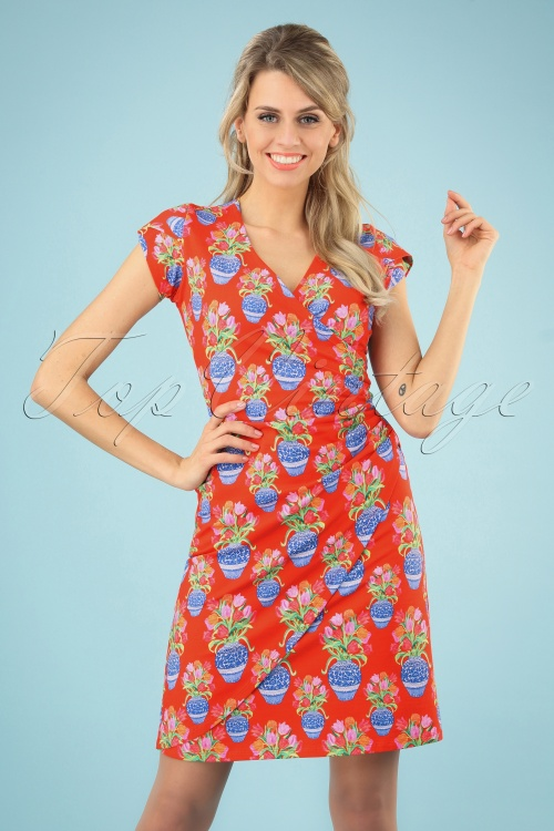 Lien & Giel 27657 Ba Cap Tulip Dress 20190311 006 020W