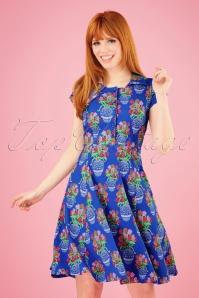 Lien & Giel 27663 Metz Cap Floral Tulip Dress 20190311 004wit 020W