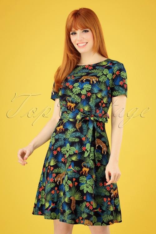 Sugarhill Brighton 27670 Ohara Jungle Dress 20190312 002 020W