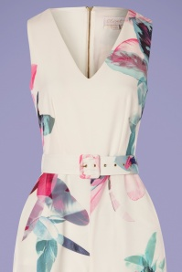 Closet 30162 Jumpsuit Multifloral Elegant 170419 0003V