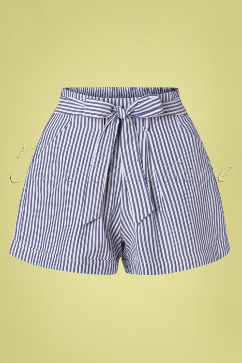 Louche 28287 Shirts Stripes Blue White 170419 0009W