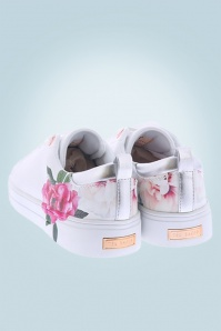 Ted Baker 30614 Shoes Sneaker Rose Lialy Magnificent White 20190410 008