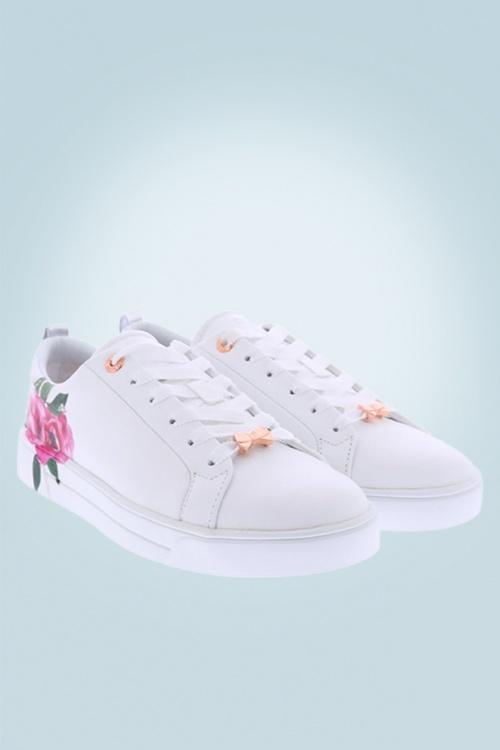 Ted Baker 30614 Shoes Sneaker Rose Lialy Magnificent White 20190410 006
