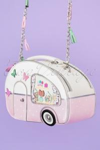 50s Sweetie Caravan Box Bag in Pink