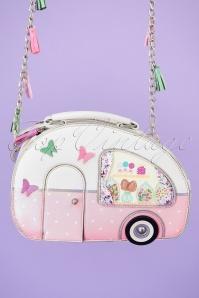 Vendula 28450 Camper Bag Pink Dog Corgi Caravan 20190321 001W