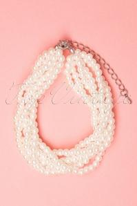 30s Mona Twisted Pearl Bracelet