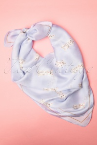 Collectif Clothing 27272 Kitten Scarf Blue 20190417 006W