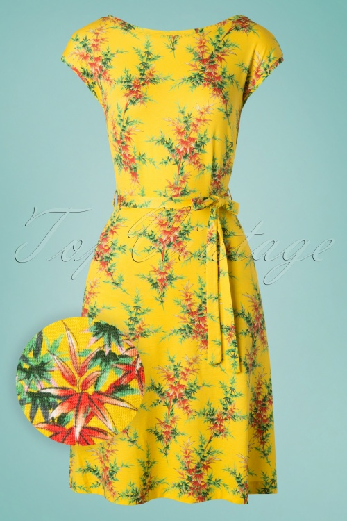 King Louie 27225 Grace Dress in Sunny Yellow 20190418 002W1
