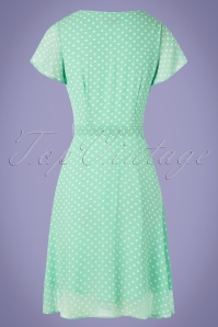 Smashed Lemon 27765 Mint Polkadot Dress 20190208 006W