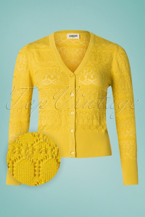 Circus 27569 Yellow Cardigan 20190418 003W1