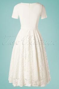 Daisy Dapper 29528 Dolly Dress in White 20190418 008W