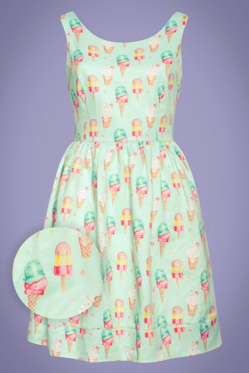 Smashed Lemon 27768 Leila ice cream swing dress 20190418 020LW1
