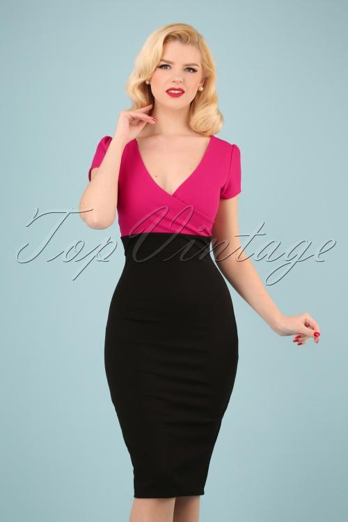 Vintage Chic 28737 50s Kristy Pencil Dress 20180706 1W