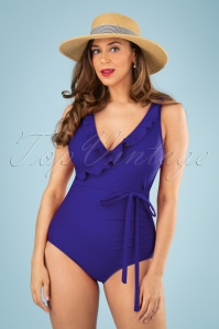 Jessica Rey 50s Grace One Piece Swimsuit in Bossanova
