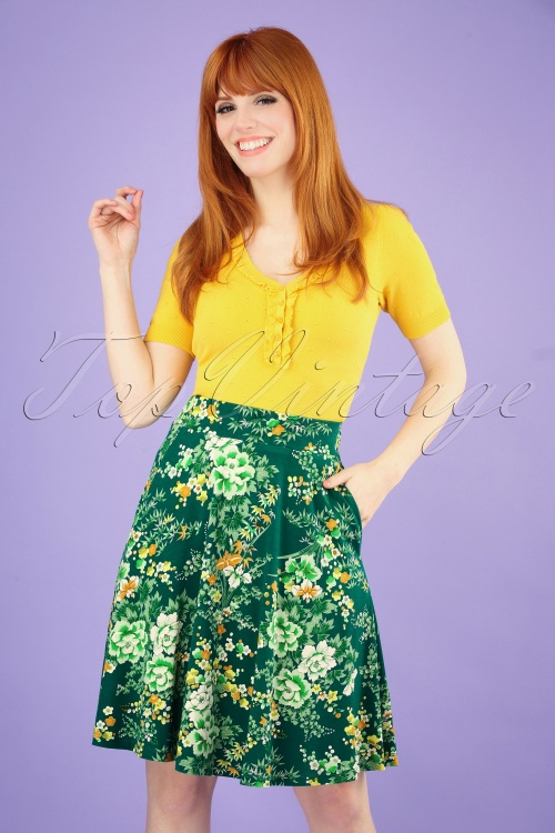King Louie 27191 60s Serena Skirt 20190227 002 020W