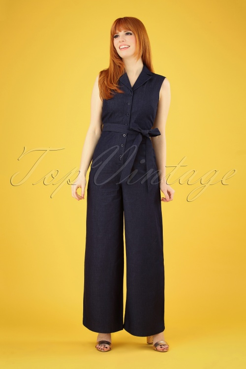 Fever 28717 Yvonne Denim Jumpsuit 20190226 005 020W