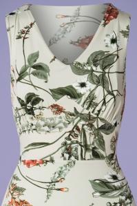 Vintage Chic 30257 Green Floral Pencil Dress 20190424 001V