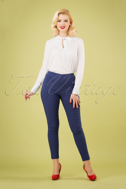 Lady Love 28467 Skinny Pants Denim Blue 20190129 040W
