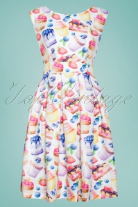Smashed Lemon 27756 Cupcake Dress 1W