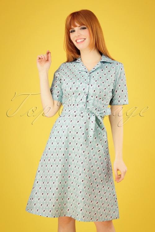 Pretty Vacant 27552 Kim Rose Mint Green Dress 20190314 004 020W