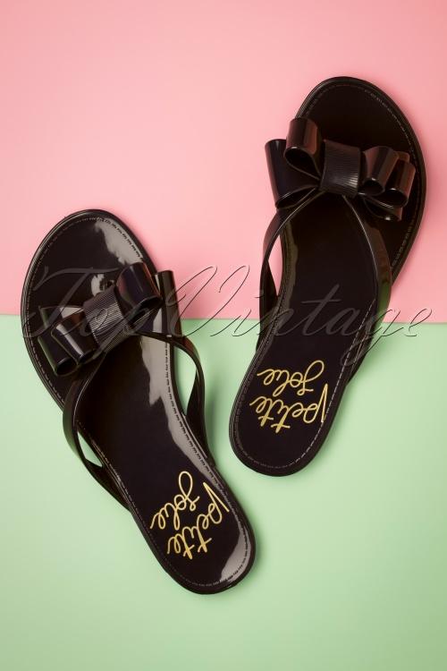 Petite Jolie 26846 Lucky Flip Flop Black 20190424 002W