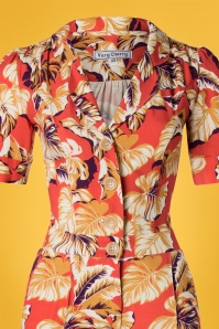 Very Cherry 27007 Classic Tropical Jumpsuit 20190221 003V