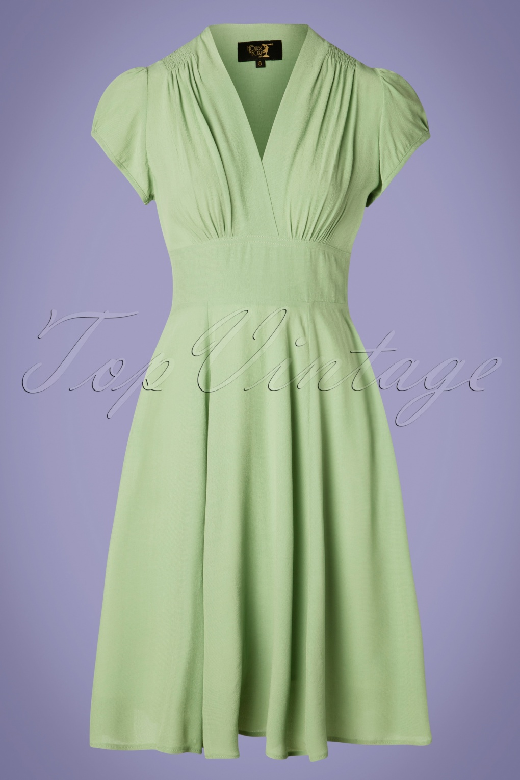 1930s Dresses | 30s Art Deco Dress 30s Ava Tea Dress in Green £148.11 AT vintagedancer.com