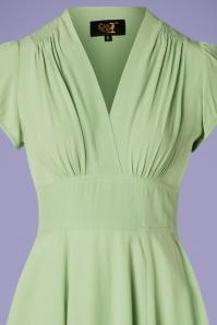 The House of Foxy 29507 30s Ava Tea Green Dress 20190424 002V