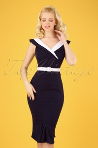 Miss Candyfloss 28683 Abigail Lee Wiggle Dress 20190220 0040W