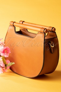 Jones Crossbody Bag Années 70 en Brun