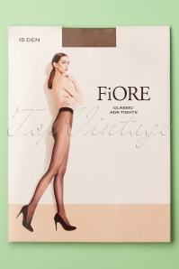 Ada Classic Tights en Naturel