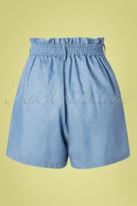 Louche 28151 Alda Chambray Shorts 20190426 007W