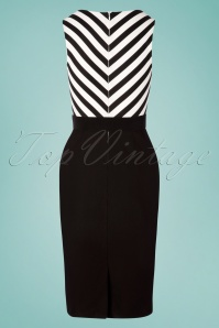 Rebel Love Clothing 29567 Pencildress Cafedress Stripes Blackandwhite 20190429 0004W