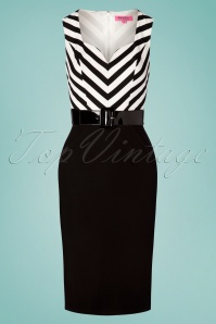 Rebel Love Clothing 29567 Pencildress Cafedress Stripes Blackandwhite 20190429 0003W
