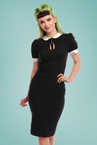 Collectif 27459 khloe pencil dress black 20190426 020LW