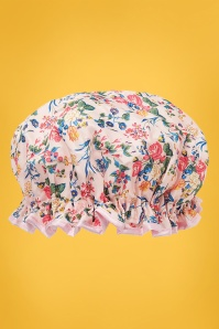 Showercap in Pink Floral