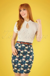 4 Funky Flavours 30337 Swan Pencil Skirt 20190404 040MW