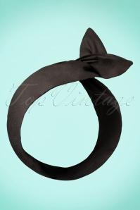 Hair Scarf Années 50 en Noir