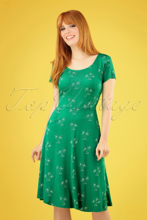 Pretty Vacant 27551 Gloria Island Dress in Green 20190321 040MW