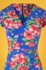 TOPVBC 30384 Pecildress Blue Floral 010519 0001V